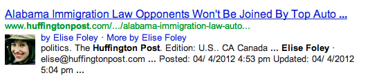 Elise Foley's Google Plus Results